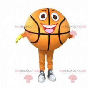 Oransje basketball maskot, sportsballdrakt - Redbrokoly.com