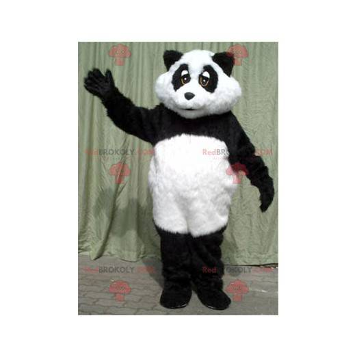 Schwarzweiss-Panda-Maskottchen - Redbrokoly.com