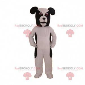 Czarno-biały pies maskotka, kostium pieska - Redbrokoly.com