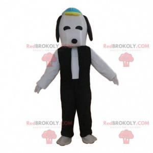 Mascota de Snoopy, el famoso perro de dibujos animados -