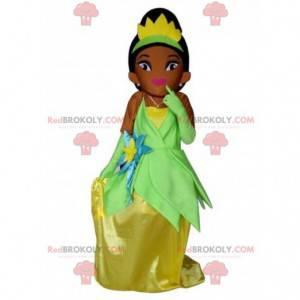 Maskot Tiana, slavný kostým Disney princezny Disney -