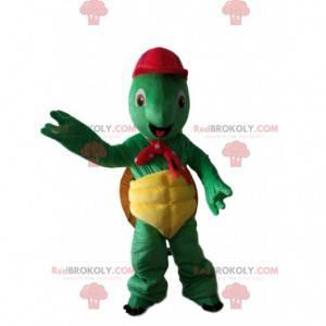 Franklin maskot, slavná karikatura zelená želva - Redbrokoly.com