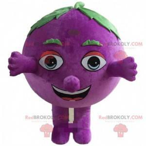 Grape mascot, giant blueberry costume - Redbrokoly.com
