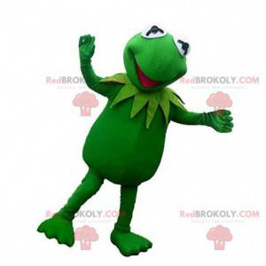 Mascot of Kermit, the famous fictional green frog -