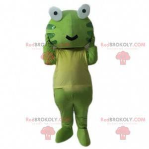 Grønn froskmaskott, grønn paddrakostyme - Redbrokoly.com