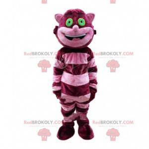 Maskot kočky Cheshire v Alici v říši divů - Redbrokoly.com