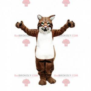 Puma mascot, puma costume, feline costume - Redbrokoly.com