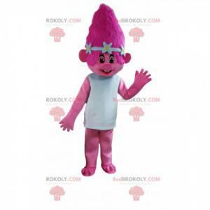 Rosa Trollmaskottchen, rosa Kreaturenkostüm - Redbrokoly.com