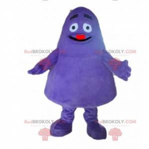Purple monster mascot, purple creature costume - Redbrokoly.com