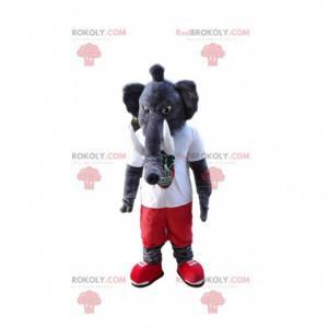 Šedý slon maskot, obří mamutí kostým - Redbrokoly.com