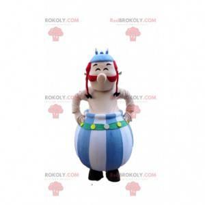 Mascotte Obelix, famoso fumetto gallico Asterix e Obelix -