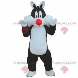 Grosminet Maskottchen, Sylvester, berühmte Comic-Katze -
