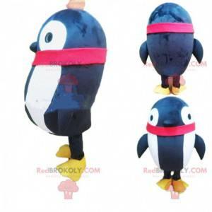 Aufblasbares Schwarz-Weiß-Pinguin-Maskottchen, aufblasbares