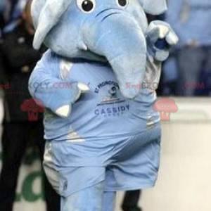 Obří modrý slon maskot - Redbrokoly.com