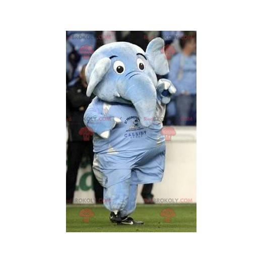Riesiges Maskottchen des blauen Elefanten - Redbrokoly.com