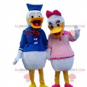 Maskoti Donalda a Daisy, slavný pár Disney kachen -
