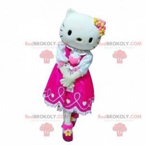 Hello Kitty mascotte, famoso gatto dei cartoni animati -