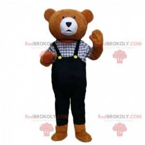 Elegantes Teddybär-Maskottchen, Teddybär-Kostüm - Redbrokoly.com