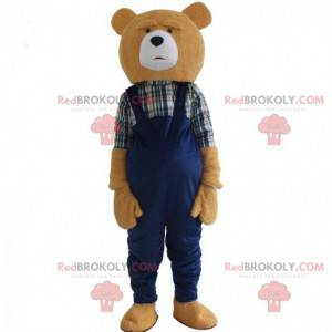 Maskot medvídek maskot, kostým medvídek - Redbrokoly.com
