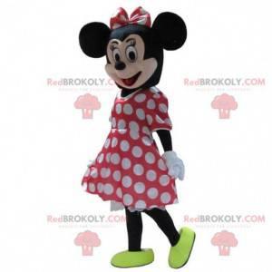 Mascota de Minnie, el famoso ratón de Disney, disfraz de Minnie