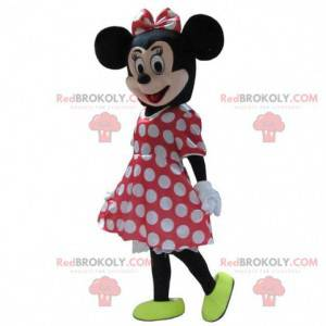Mascotte di Minnie, il famoso topo Disney, costume di Minnie -