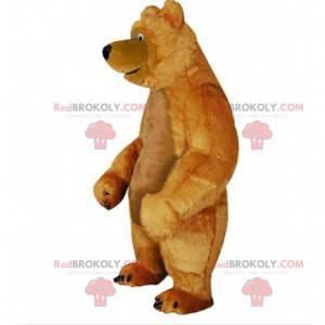 Niedźwiedź maskotka, słynny miś z kreskówki Masza i Niedźwiedź