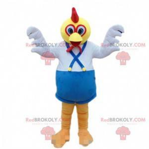 Maskot kohouta, kuře, barevný kostým ptáka - Redbrokoly.com