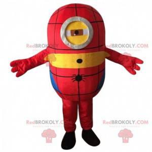 Stuart mascot, famous Minions disguised as Batman -