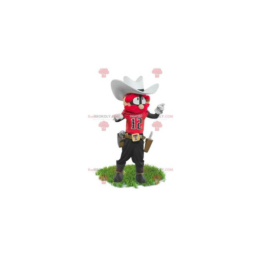 Sheriff Cowboy Maskottchen - Redbrokoly.com