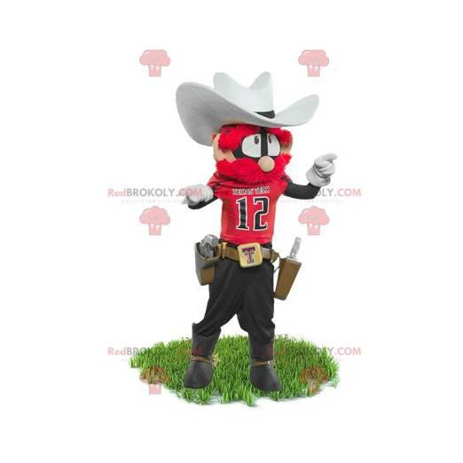 Šerif kovboj maskot - Redbrokoly.com