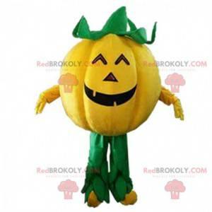 Mascotte gigante della zucca di Halloween, costume di Halloween