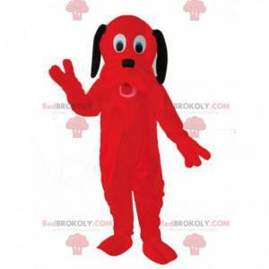 Rotes Hundemaskottchen, Pluto-Kostüm, der Disney-Hund -