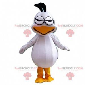 Giant seagull mascot, white duck costume - Redbrokoly.com