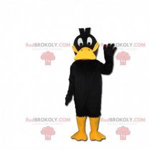 Maskotka Daffy Duck, słynna kaczka z Looney Tunes -