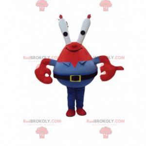 """Mascote Sr. Siriguejo ou """"Capitão Siriguejo"""" por Bob Esponja"""