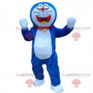Maskot Doraemon, slavná modrá a bílá kočka manga -