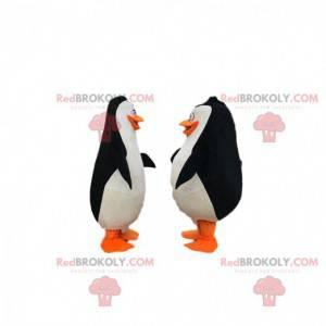 """2 tučňáci z karikatury """"Madagaskarští tučňáci"""" - Redbrokoly.com"""