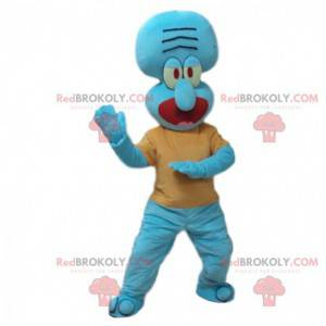 Mascot Carlo Tentacle, calamar gruñón en SpongeBob SquarePants