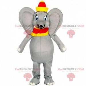 Dumbo mascot, the famous Disney cartoon elephant -