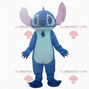 Stitch maskot, den berømte romvesenet fra Lilo og Stitch -