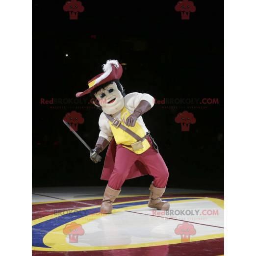 Musketeer mascot - Redbrokoly.com