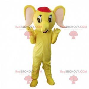 Maskot žlutý slon, kostým žlutého slona - Redbrokoly.com