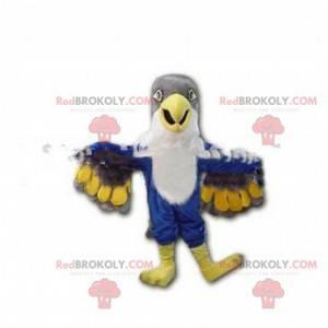 Maskot barevný sokol, kostým obrovského orla - Redbrokoly.com