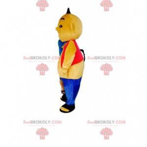 Maskot sumo, kostým čínského stíhače - Redbrokoly.com
