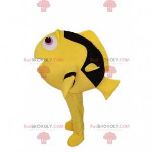 Maskot žlutý a černý bodlák, kostým Dory - Redbrokoly.com