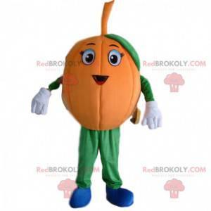 Giant pumpkin mascot, orange pumpkin costume - Redbrokoly.com
