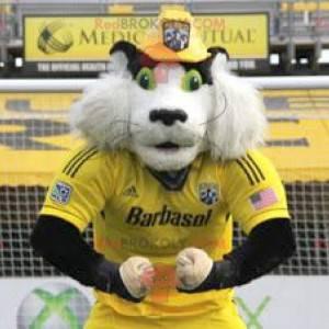Maskot křečka bílého a černého - Redbrokoly.com
