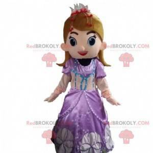 Prinsesse maskot, dronningskvinne for kvinner - Redbrokoly.com