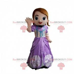 Prinzessin Maskottchen, weibliches Königin Kostüm -