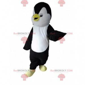 Maskot tučňáka, černobílý kostým tučňáka - Redbrokoly.com